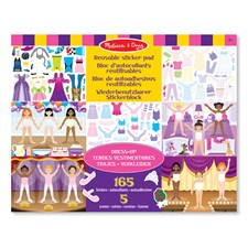 Klistremerker Dress-Up Sett, Melissa & Doug