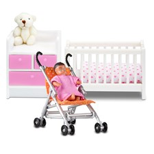 2 sets in 1, Special Edition, Småland Baby set, Lundby