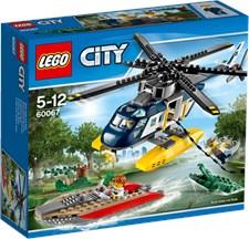 Helikopterjakt, Lego City Police (60067)