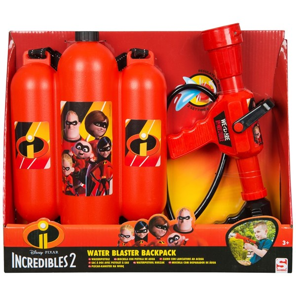 Water Blaster Backpack  Superhjältarna - uteleksaker & sportleksaker