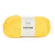 Adlibris Bomull Garn 100g Yellow A076
