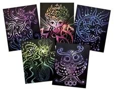 Nebulous Stars Scratch Art