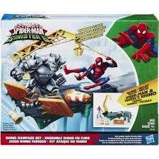 Web City Rhino Rampage Set  Spiderman  Marvel - figurer & miniatyrer