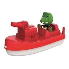 Krokodil med brandbåt, AquaPlay