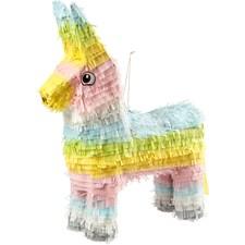 Piñata , str. 39x13x55 cm, pastellfarger, 1stk.