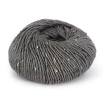 Du store Alpakka Tweed Lanka Alpakkavilla Villa Mix 50 g harmaan liila 106