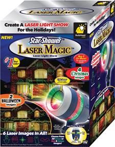 Star Shower Laser Magic, Laser Light Show