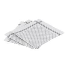 Oppvaskkluter, 3-pack, 40 x 40 cm, Hvit/Grå, Meraki