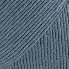 Drops Safran Garn Bomull 50 g jeansblå 06