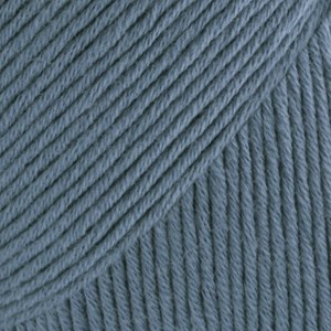 Safran Drops design Garn Bomull 50 g jeansblå 06
