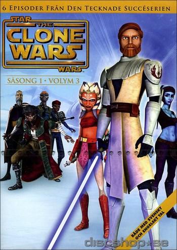 Star Wars - The Clone Wars - Säsong 1 vol 3  Warner Home Video