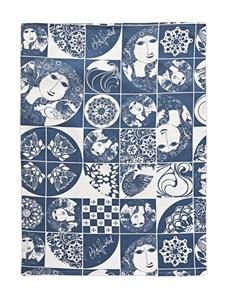 Kjøkkenhåndkle, 50 x 70 cm, Blå, Bjørn Wiinblad