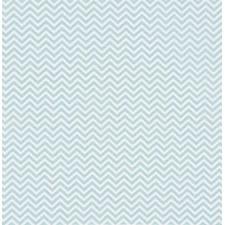 Stoff Sikksakk Isblå 50/160 cm