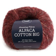 Adlibris Alpaca Cotton Big 50 g, Cherry Twist A675