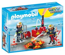 Brandmän med vattenpump, Playmobil City Action (5397)