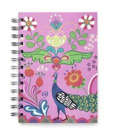 Peacock in Bloom-muistikirja