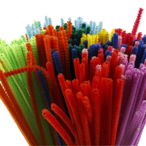 Piprensare  tjocklek 4 mm  L  30 cm  mixade färger  300mix.
