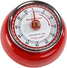 Dulton Timer 7.5cm Röd