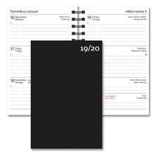 Kalenteri 19/20 Burde Opiskelijan kalenteri Basic Musta