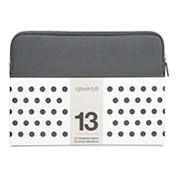 "13"" NEOPRENE 19TWENTY8 SLEEVE DARK GREY"