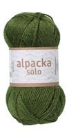 Alpacka Solo Ullgarn 50g Mörkgrön (29113)