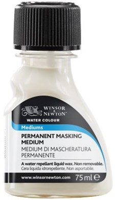 Akvarell Medium Permanent Masking Winsor & Newton 75 ml