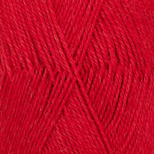 Drops Flora Mix Garn Ullmix 50g Red 18