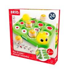BRIO - 30189 Lek och lär Musikalisk larv