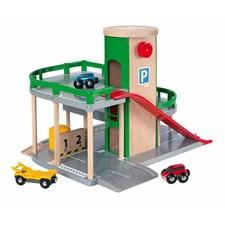 Parking Garage Set, Brio-puurautatie