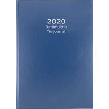 Kalenteri 2020 Burde Tuntimuistio Keinonahka Sininen