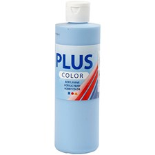 Plus Color-askartelumaali, 250 ml, taivaansininen