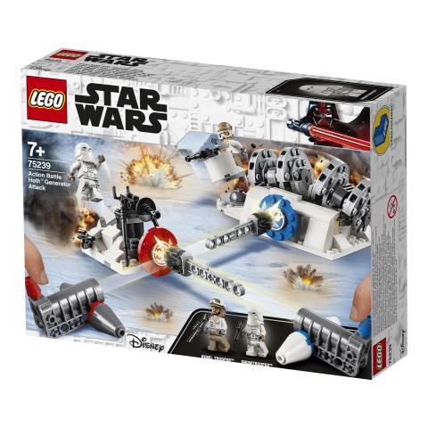 Action Battle Hoth™ Generator Attack  LEGO Star Wars (75239)  Lego