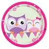 Happy Owl tallrikar, 8 st