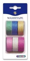 Washi-tape, Ensfarget med glitter, Playbox