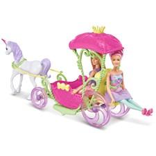 Dreamtopia Enhörning och Vagn, Barbie