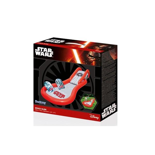 Space Slide  Star Wars  Bestway - uteleksaker & sportleksaker