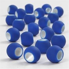 Linkkihelmet, koko 8x10 mm, aukon koko 5 mm, 21 g, tummansininen