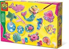 Pysselset, Gjut och färglägg - Havsdjur