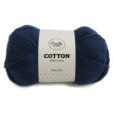 Adlibris Cotton Garn 100g Navy Blue A081