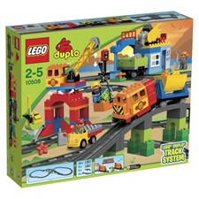 Extra stort tågset, LEGO DUPLO Town (10508)