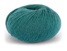Du store Alpakka Wool Garn Ullmix 50 g Mørk Sjøgrønn 516
