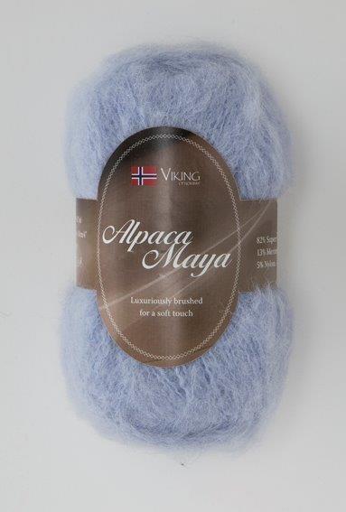 Viking of Norway Alpaca Maya 50 gr laventeli