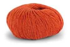 Knit At Home Superfine Alpaca Merino Alpakkavilla Mix 50 g oranssi meleerattu 109