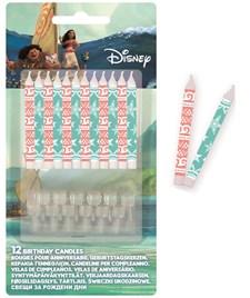Disney Vaiana Kakkukynttilä 12 kpl
