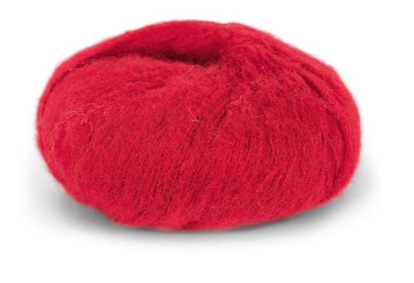 Du Store Alpacka Faerytale Garn 50 g Röd 777