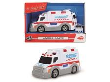 Ambulans med ljud och ljus 15 cm, Dickie toys
