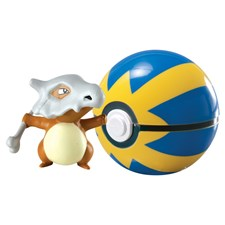Pokémon, Clip 'n' Carry Ball, Cubone + Poke Ball