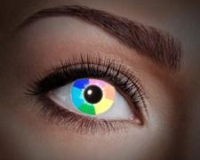 Värilliset linssit UV Rainbow