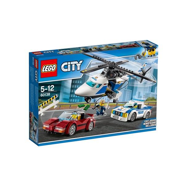 Höghastighetsjakt  LEGO City Police (60138)  Lego - lego & duplo