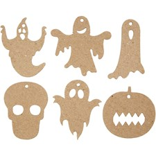 Halloweenoppheng, str. 7-10 cm, 60stk.